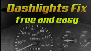 Audi Dash Lights Flickering Flickering Dash Lights Easy Diy Fix