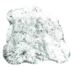 ideas gray faux fur rug for black faux sheepskin rug gray faux fur area rug remarkable