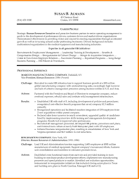 Hr Manager Resume Sample Executive Format Doc Human Resources