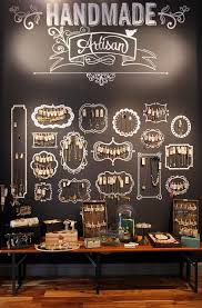 Chalkboard Jewelry Display