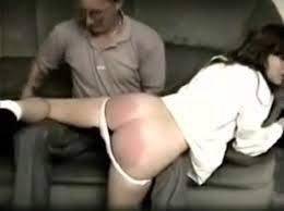 Naughty Girl Gets Spanked