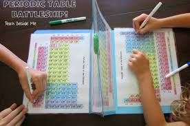 Periodic Table Battleship Game Makes Chemistry Fun Again | OddFeed