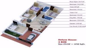 25 x 40 duplex house plans