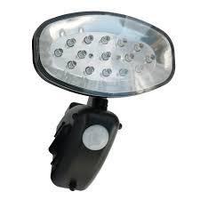 The Sharper Edge  Gifts U0026 Gadgets Motion Detecting Solar Security Solar Pir Utility Light
