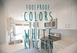 best colors for white kitchens home decorating painting advice