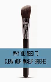 why clean makeup brushes are important