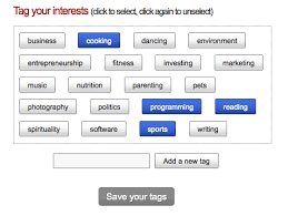 What Are Interests Tag Your Interests New Feature Spotlunch Com
