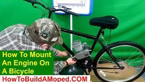 how to mount engine on bike 2 cycle bikeberry how to build a motorized bicycle part