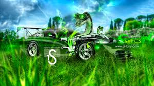 dodge viper fantasy snake car