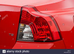 Volvo S40 Lights 2008 Volvo S40 T5 In Red Tail Light Stock Photo 17386803