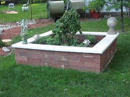 how to build a garden. Finished Raised Garden Bed How To Build A