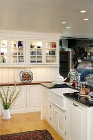 kitchen cabinets home office transitional: shallow kitchen cabinets kitchen traditional with arctic beadboard beaded black