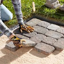 Building A Paver Patio And Firepit  YouTubeHow To Install Pavers In Backyard