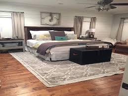 simple bedroom rug ideas