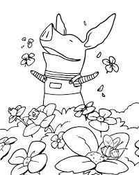 Olivia Cartone Animato Disegno Da Colorare Gratis Disegni Da