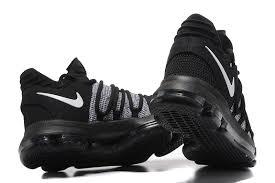 nike basketball shoes 2017 kd. 2017 cheap nike kd 10 black grey white basketball shoes for sale-1 kd