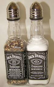 How To Decorate Empty Liquor Bottles 100 sets of Jack Daniel's Whiskey Salt Pepper Shakers 100 ml Empty 8