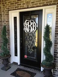 really want to get this for my door 16 inch painted wooden monogram wall letter