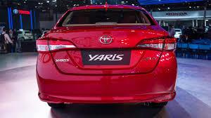 2018 Toyota Yaris Sedan India Rear   AUTOBICS