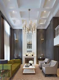 Interior Design Living Room Classic Gorgeous Dark Walls And High Ceilings With Minimal But Traditional