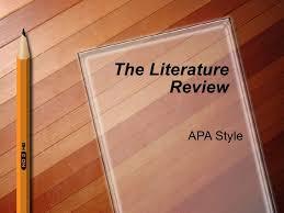 Lit Review Apa Style 1202666316841695 4