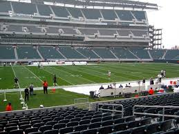 Lincoln Financial Field View From Lower Level 118 Vivid Seats