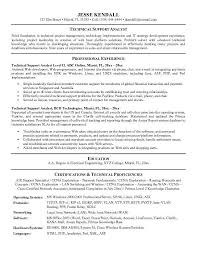 It Support Resume Resume Sample