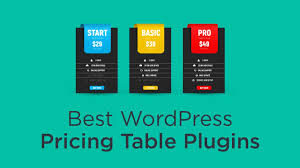 Wordpress Comparison Chart 8 Best Wordpress Pricing Table Plugins 2019 Athemes