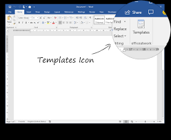 Office Tempaltes Template Chooser Overview