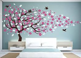 cherry blossom wall decal paper goodness stickers