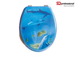 gold foil toilet seat. aquarium toilet seat with zinc alloy hinges - reef gold foil