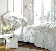 blue and white toile bedding black and white bedding bedding set grey bedding king cheerful gray