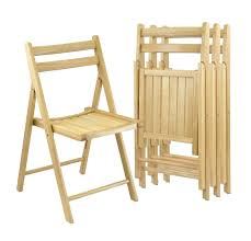 a wooden chair a set of four folding wood chairs can be at the ready as extra seating for guests wooden chairs ikea