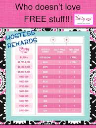 Interested In Hosting A Party Look At These Great Rewards
