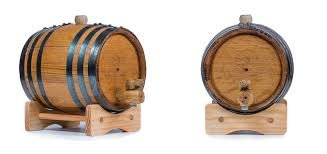 oak barrels stacked top. 1 Liter Oak Barrel Barrels Stacked Top B