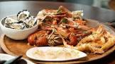 balmain bugs  shrimp  with mango sauce