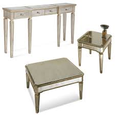 borghese furniture mirrored. Bassett 8311-472 Borghese Mirrored Console W/ Drawers Furniture R