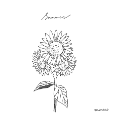 At Manazoillustration 二本松マナカ 2019724 Sunflower