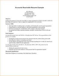 24 Images Of Accounts Receivable Resume Template Leseriail Com