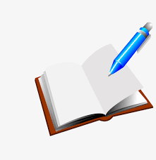 cartoon blue pen books cartoon book books png and vector