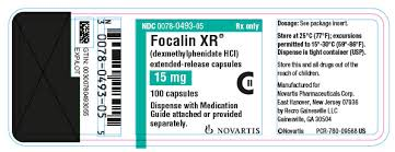 Focalin Dosage Chart Phactmi Focalin Xr Dexmethylphenidate Hydrochloride