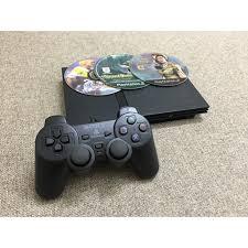 Chỉ 1,450,472đ Máy game PS2 Slim chạy đĩa