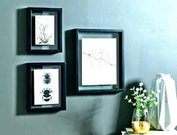 acrylic frames wall mounted x float frame floating poster glass picture inch white w photo a4 a3