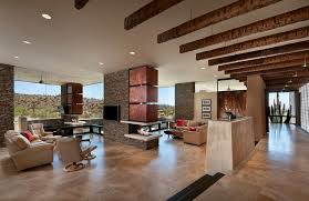 ... Exposed brick fireplaces are particularly charming, giving the space a  rustic feel