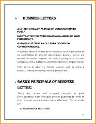 Basic Business Letters Basic Business Letter Zoro Braggs Co