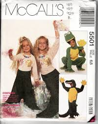 Halloween Costume Patterns Custom McCall's 48 Childrens Halloween Costume Sewing Pattern Boys Girls