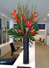 Office Flower Use Floral Designs In The Office To Increase Productivity