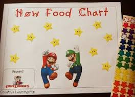 Try New Food Chart Getting Your Child To Try New Foods Can Be A Struggle Here