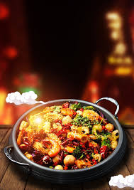 delicious food background. Plain Food Spicy Spicy Pot Food Poster Background And Delicious Food Background