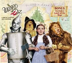 Calendar Wizard 2015 The Wizard Of Oz Wall Calendar 2015 Land Of Oz Special Edition